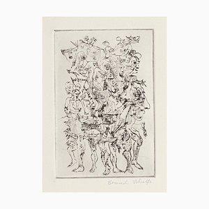 Bernard Schultze - Carnival - Original Etching - 1964