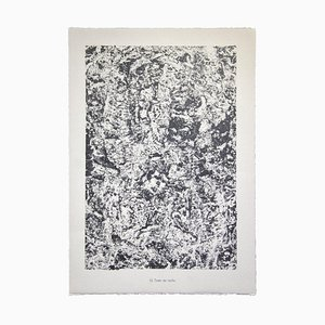 Jean Dubuffet - Text of Roche von Water, Stones, Sand - Original Lithograph - 1959
