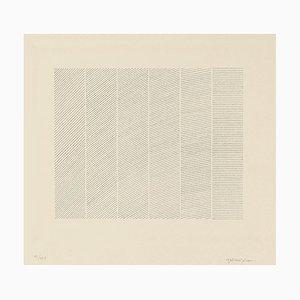 Giulia Napoleone - Composition - Original Radierung - 1970er Jahre