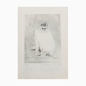 Sergio Barletta - Homo Ludens - Original Etching - 1991