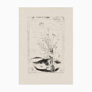 Enrico Rumo - Flowers - Original Etching on Paper - 1950s