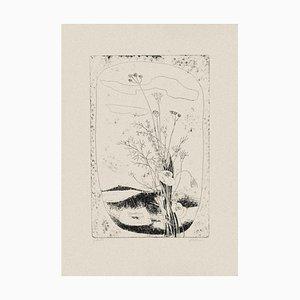 Enrico Rumo - Flowers - Original Radierung auf Papier - 1950er Jahre