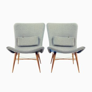 Lounge Chairs by Miroslav Navratil for Cesky Nabytek, 1959, Set of 2
