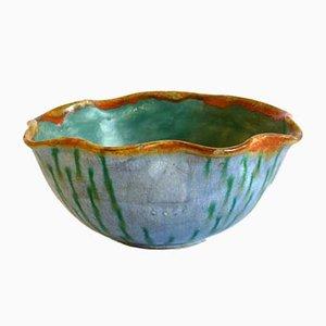 Italian Pottery Bowl from La Casa Dell'arte, 1920s