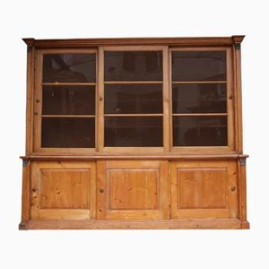 English Softwood Shutter Cabinet, 1880s