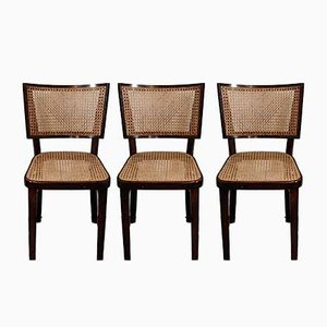 Art Deco Dining Chairs, 1920s, Set of 6