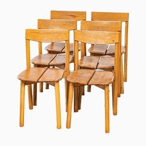 Beistellstühle, 1960er, 6er Set