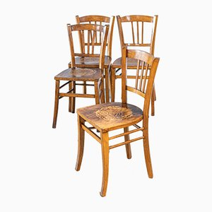 Bistro Chairs from Luterma, 1950s, Set of 4