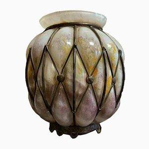 Glass Ball Vase, 1920s