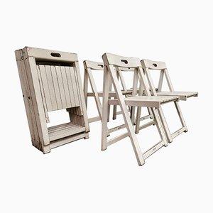 Chaises Pliables Trieste par Aldo Jacober pour Stol Kamnik, 1970s, Set de 10