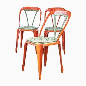 Beistellstühle von La Société Industrielle des meubles Multipls, 1930er, 3er Set