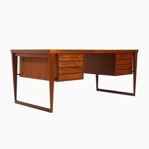 Free-Standing Desk by Kai Kristiansen for Feldballe Møbelfabrik, 1950s