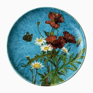 Plato de cerámica de Théodore Deck, 1882