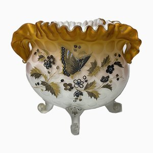 Opaline Enamelled Glass Bowl