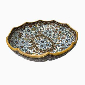 Paisely Bowl by Gien, 1920s