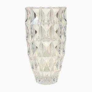 French Glass Vase, 1970s