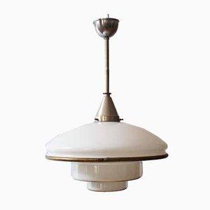 Lampada da soffitto di Otto Müller per Sistrah Leuchten AG, anni '30