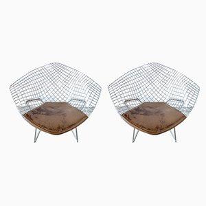 Diamond Chairs by Harry Bertoia, 1960s, Set of 2