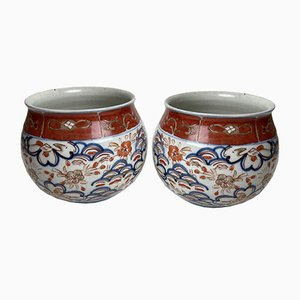 18th Century Japanese Porcelain Vases, Set of 2