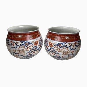 Japanische Vasen aus Japan, 18. Jh., 2er Set