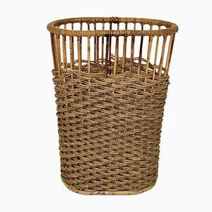 Rattan Waste Paper Basket