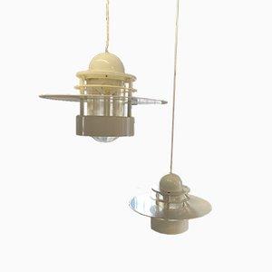 Lampadari di Louis Poulsen, anni '90, set di 2