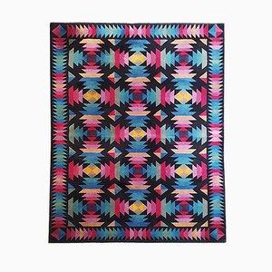Italian Geometric Wool Rug by Missoni for T&J Vestor, 1980s