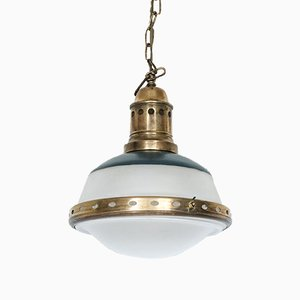 Vintage Swiss Ceiling Lamp from BAG Turgi