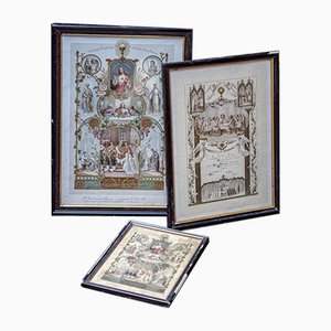 Religious Paintings, Set of 3