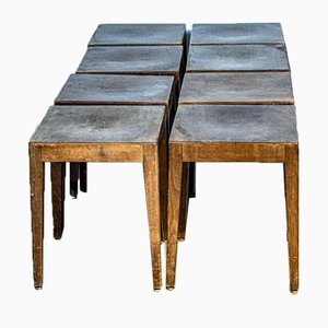 Stools from Baumann, 1960s, Set of 10