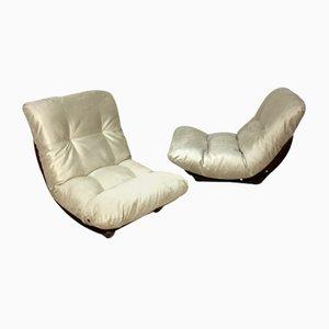 Marsala Stühle von Michel Ducaroy für Ligne Roset, 1972, 2er Set