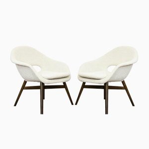Armchairs by Miroslav Navratil, 1960s, Set of 2