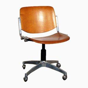 Desk Chair by anonima castelli for piretti , 1970s