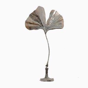 Vintage Leaf Sculpture by Lothar Klute for Waldemai