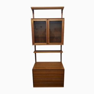 Teak Wall Unit by Poul Cadovius for Cado, 1960s, Set of 10