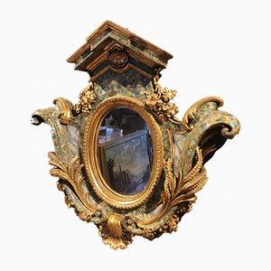 18th Century Wooden Mirror