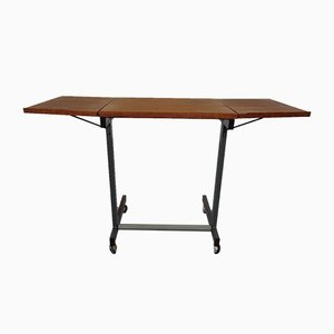 Danish Extendable Architect Table from Elmo, 1960s