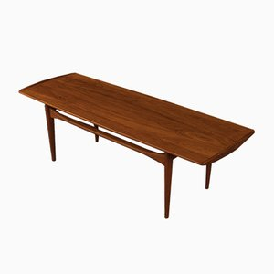 Table Basse par Tove & Edvard Kindt-Larsen pour France & Søn / France & Daverkosen, 1960s
