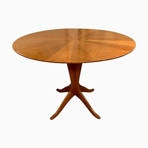 Mid-Century Italian Round Dining or Center Table