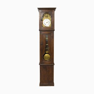 19th-Century French Longcase or Grandfather Clock