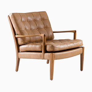 Swedish Model Löven Lounge Chair by Arne Norell