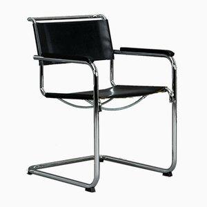 Moderner Modell S34 Leder Stuhl von Mart Stam für Thonet