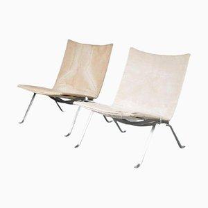 PK22 Chairs by Poul Kjaerholm for Kold Christensen, Denmark, 1960, Set of 2