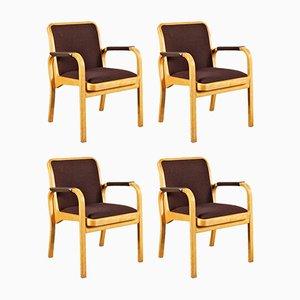 Fauteuils par Alvar Aalto pour Artek, 1960s, Set de 4