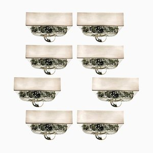 Hand Blown Wall or Ceiling Light from Doria, 1970s
