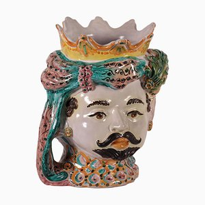 Vaso Dolce & Gabbana in ceramica di Caltagirone