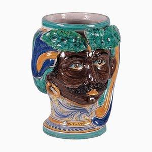 Ceramic Dolce & Gabbana Vase from Caltagirone