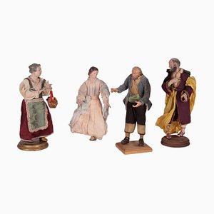 Keramik Statue Set