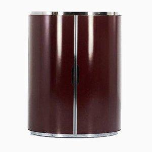 Mobile bar modernista cilindrico, anni '70