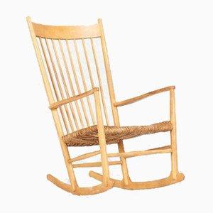 Model J16 Rocking Chair by Hans Wegner for Fdb Furniture, 1950s